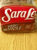 Sara Lee 100% Whole Wheat - Producto