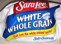 White whole grain bread - Product - en