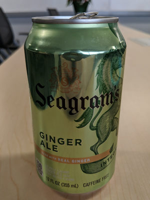 Seagram's Ginger Ale - Product