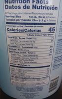 rovira export soda lite soda crackers - Ingrediënten - en
