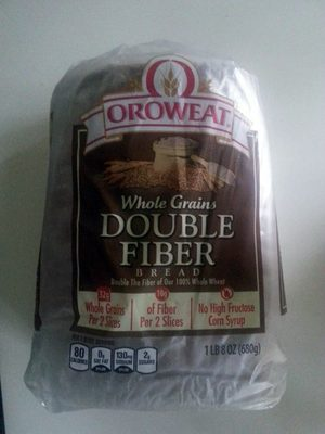 Double fiber bread, double fiber - Product - en