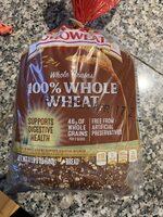 100% whole wheat bread, whole wheat - Product - en