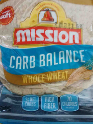 mission carb balance whole wheat   mission carb balance whole wheat - Product - en