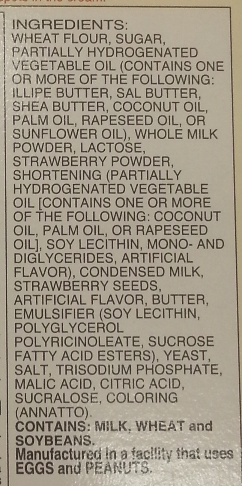 Pocky Strawberry - Ingredients