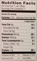 Fancy whole Smoked Oysters in cottonseed oil - Nutrition facts