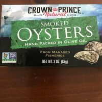 Naturally smoked oysters hand packed in pure olive oil - Product - en