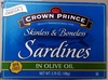 Skinless & Boneless Sardines - Product