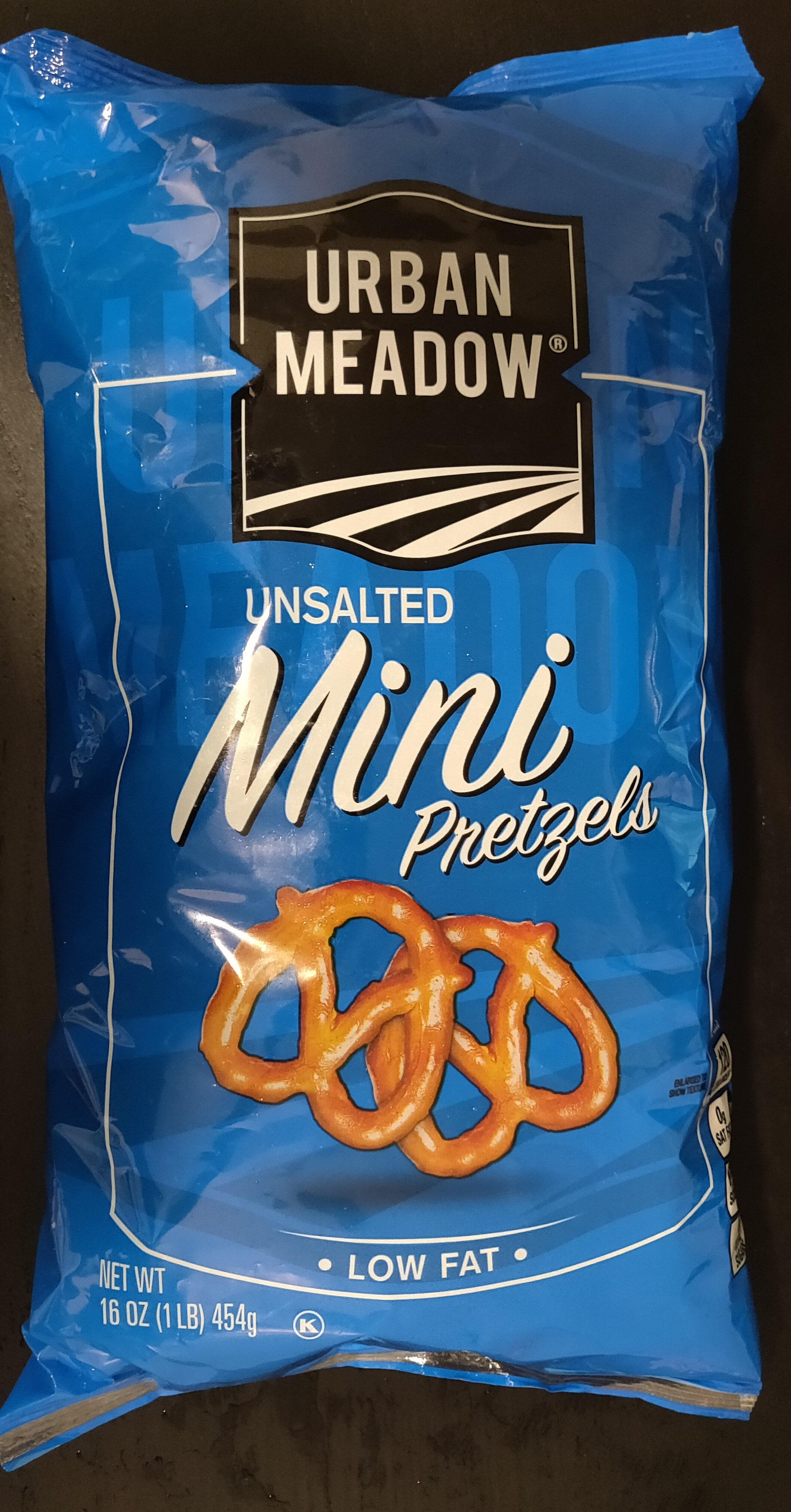 Unsalted Mini Pretzels - Product - en