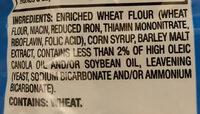 Unsalted Mini Pretzels - Ingredients - en