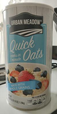 Quick Oats, made with whole grains - Produit - en