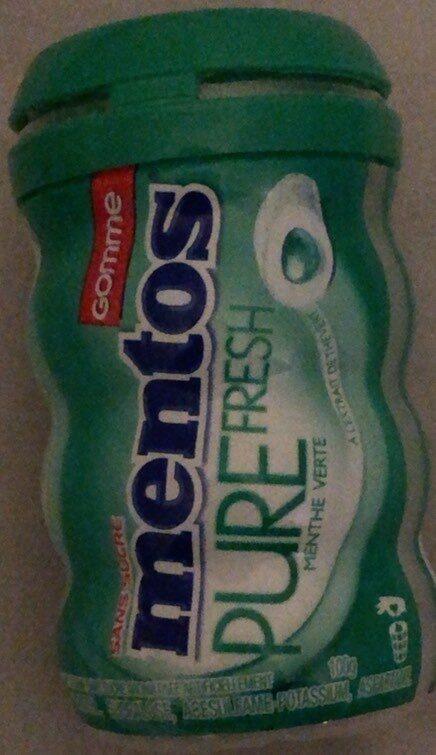 Mentos Pure fresh sugar free - Produit - en