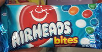 Air Heads Fruit Bites Candy, Watermelon, Blue Raspberry, Cherry, Orange, White Mystery - Product