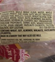 Whole grains health nut - Ingredients