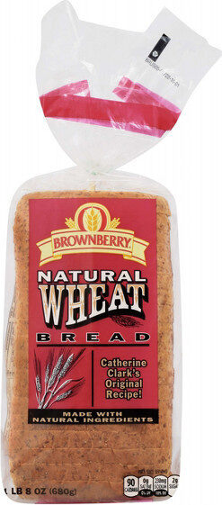 natural wheat bread - Product - en