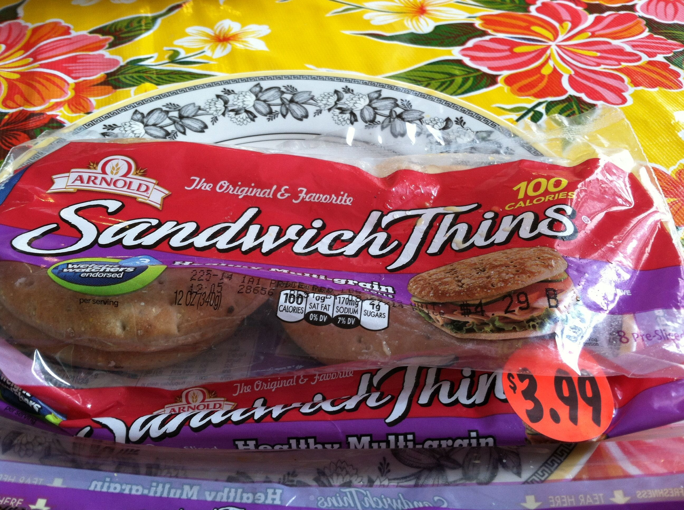sandwich thins - Product