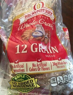 12 grain bread, 12 grain - Product - en