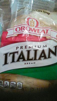 Italian freshly baked bread, italian - Product