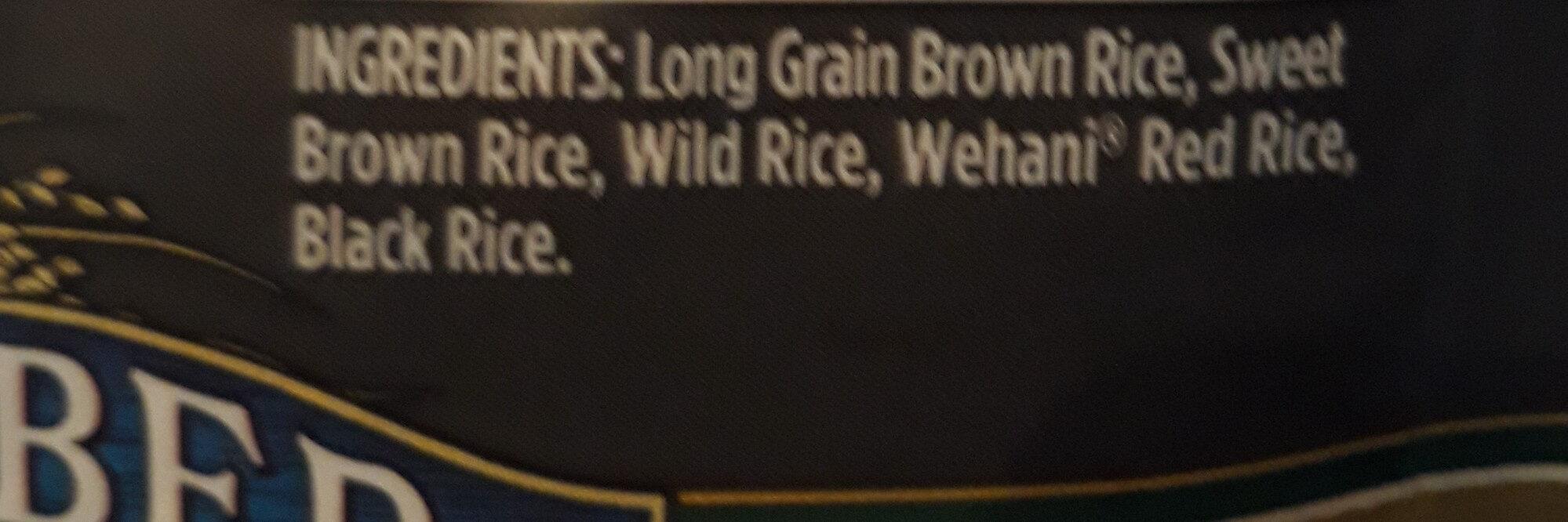Wild Blend Rice - Ingredients
