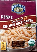 Penne organic brown rice pasta - Product - en