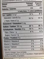 Riz arborio biologique Risotto - Nutrition facts - fr