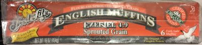 Food for life, ezekiel 4:9, sprouted grain english muffins - Producto - es