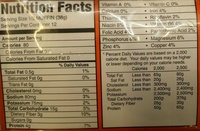 Sprouted Grain English Muffins - Nutrition facts
