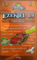 Food for life, ezekiel 4:9, original sprouted whole grain cereal - Product - en