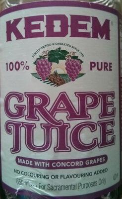 Concord grape juice - Produit - en