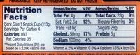 Crème Caramel Flan - Nutrition facts