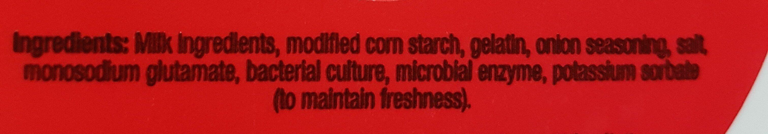 Sour Cream Dip - Ingrédients - fr