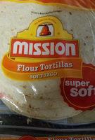 Flour Tortillas - Nutrition facts