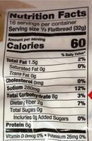 Lavash bread - Nutrition facts - en