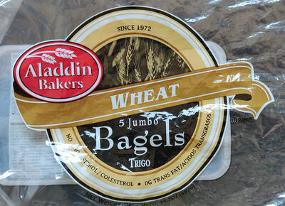 Wheat Bagels - Product - en