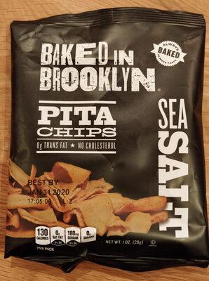 Pita chips sea salt - Product