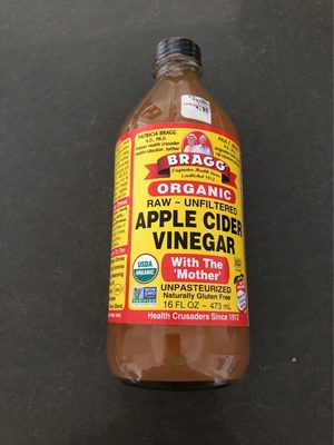 Organic apple cider vinegar with the 'mother' - Produit - fr