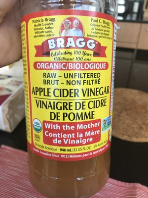 Bragg Apple Cider Vinegar 946ML - Produit - en