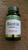 biotin 10,000 - Product - en