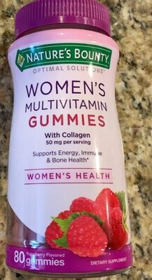 Womens Multivitamin Gummies With Collagen 50mg per serving - Product - ar