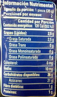 Bubu Lubu - Nutrition facts