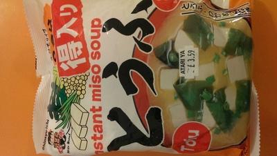instant miso soup - Produkt