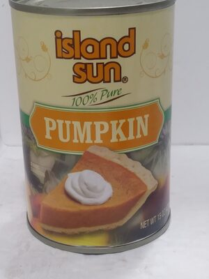 100% Pure Pumpkin Canned - Product - en