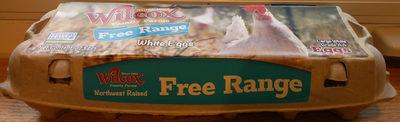 Free Range White Eggs - Product
