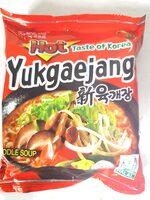 Samyang Yukgaejang noodles - Produit - fr