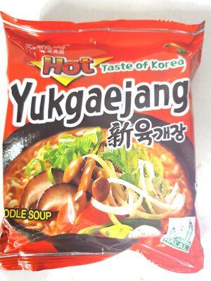 Samyang Yukgaejang noodles - Produit