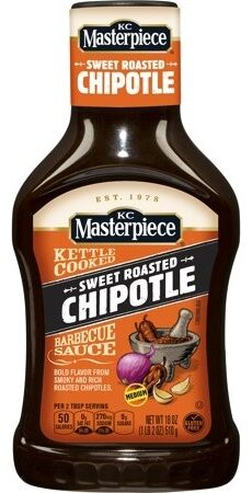 Kettle Cooked Barbecue Sauce - Sweet Roasted Chipotle - Producto