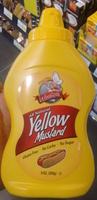 All natural Yellow Mustard - Product - fr