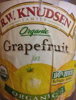 Organic grapefruit juice - Product - en