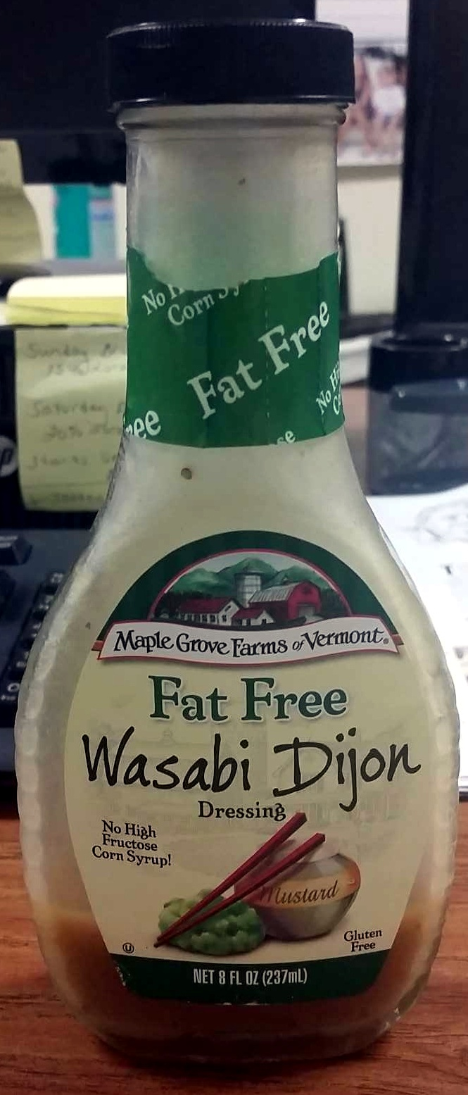 Maple grove farms of vermont, wasabi dijon dressing, mustard - Product - en