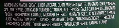 Maple grove farms of vermont, wasabi dijon dressing, mustard - Ingredients - en