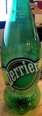 Perrier Sparkling Natural Mineral Water - Produit